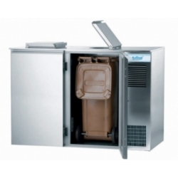 2 x 120 liter affaldssystem med køl-0