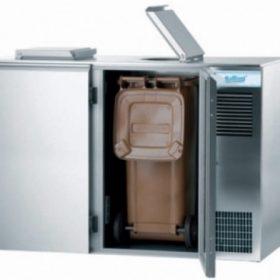2 x 240 liter affaldssystem med køl-0