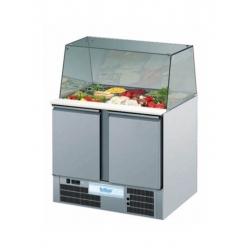 Rilling saladette /displaydisk GN 1/1 - 2 dørs-0