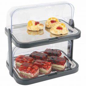 Buffet Display - dobbelt - m/køleelementer-0