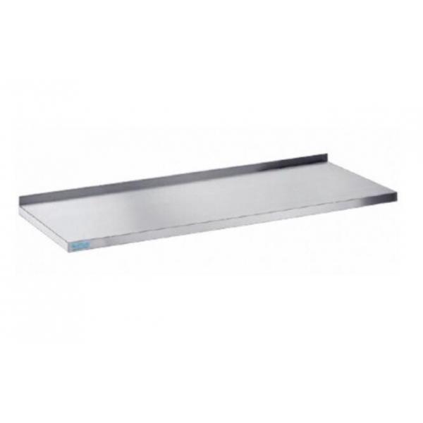Bordplade - med bagkant - 600 mm x 1300 mm-0