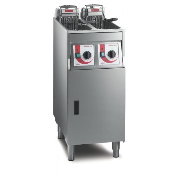 FriFri Friture 2x7,5 kW - SuperEasy 422 med filtersystem og 2 x oliepumpe-0