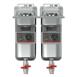 FriFri - Super Easy I 422 2 x 7,5 kW - med filtersystem og oliepumpe-0
