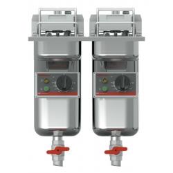 FriFri - Super Easy I 422 2 x 7,5 kW - med filtersystem og 2 x oliepumpe-0