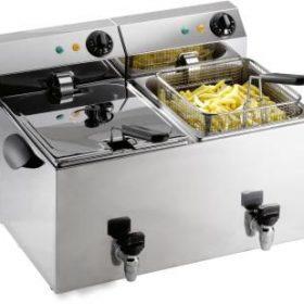 Fryer 2 x 8 liter m. Aftapningshane PROFRI 88V-0