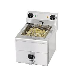 Fryer 1 x 10 liter, med tappen, Model FE 101-0