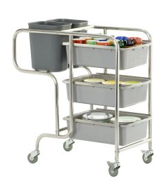 Trolley inkl. 5 containere, model Claire-0